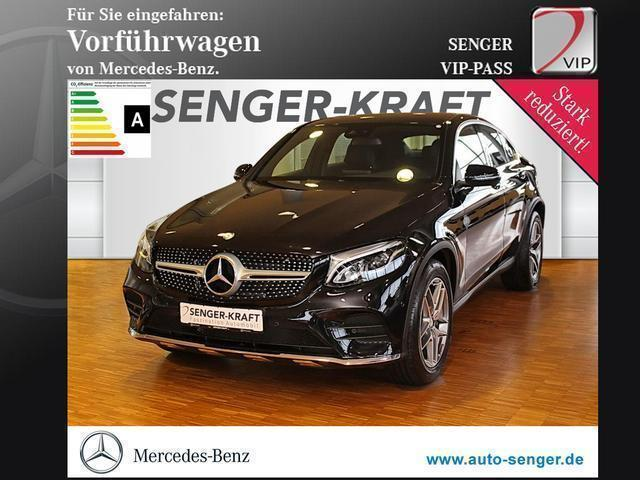 gebraucht Mercedes GLC220 d 4M Coupé AMG-Line Navi Kamera LED-High