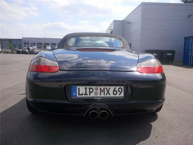 verkauft porsche boxster s gebraucht 2004 km in augustdorf. Black Bedroom Furniture Sets. Home Design Ideas
