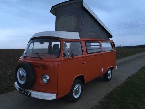 verkauft vw t2 westfalia camper h zula gebraucht 1977 km in augsburg. Black Bedroom Furniture Sets. Home Design Ideas