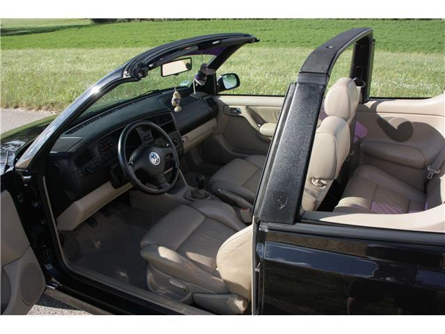 gebraucht cabrio 1 6 highline vw golf cabriolet 1998 km in aalen. Black Bedroom Furniture Sets. Home Design Ideas