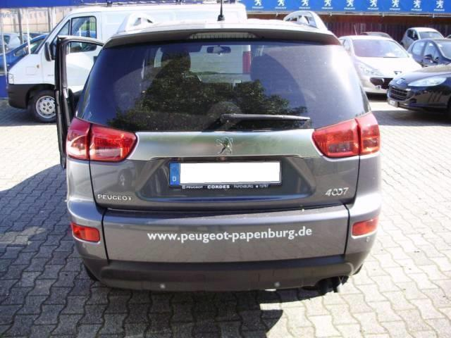 verkauft peugeot 4007 hdi fap 7 sitzer gebraucht 2009 km in essen. Black Bedroom Furniture Sets. Home Design Ideas