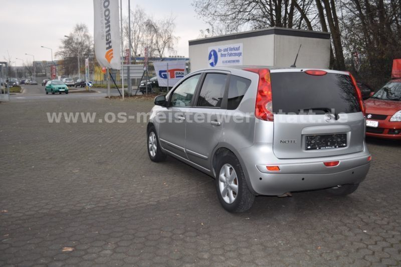 gebraucht 1 4 visia nissan note 2007 km in erfurt. Black Bedroom Furniture Sets. Home Design Ideas