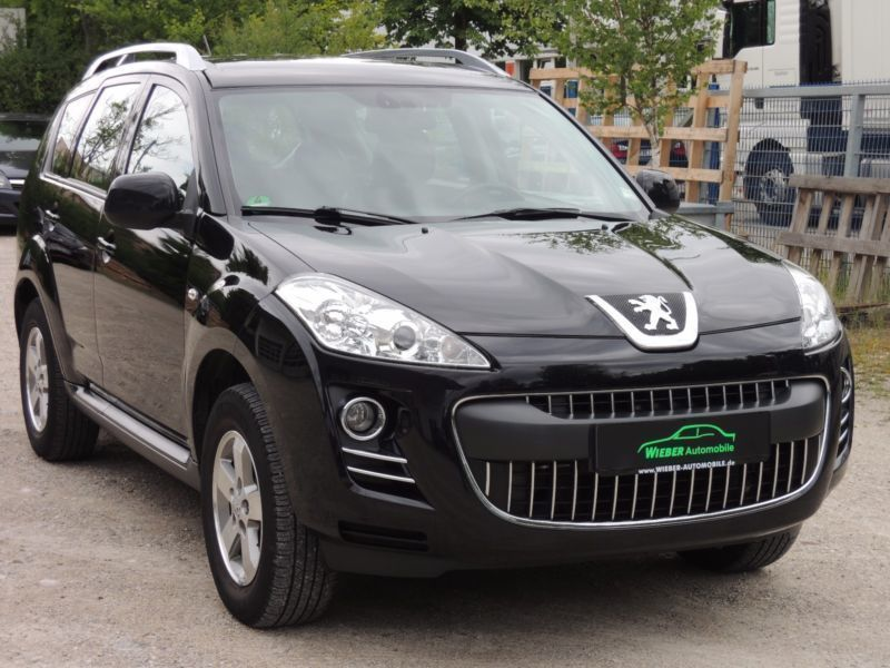 gebraucht hdi fap 7 sitzer dcs sport peugeot 4007 2011 km in hamburg. Black Bedroom Furniture Sets. Home Design Ideas