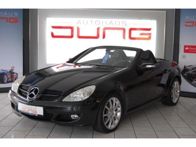 verkauft mercedes slk200 roadsterkompr gebraucht 2006. Black Bedroom Furniture Sets. Home Design Ideas