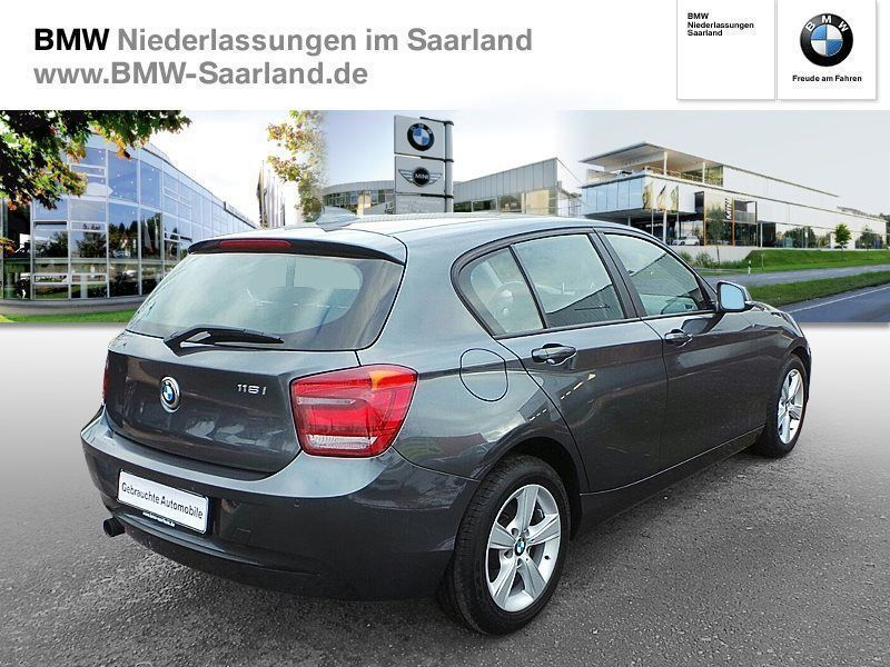 verkauft bmw 118 i 5 t rer sport line gebraucht 2013 km in saarlouis. Black Bedroom Furniture Sets. Home Design Ideas