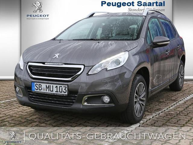 verkauft peugeot 2008 active puretech gebraucht 2015 km in saarbr cken. Black Bedroom Furniture Sets. Home Design Ideas