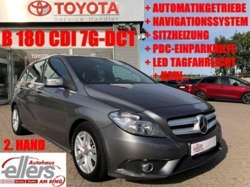 verkauft mercedes b180 cdi 7g-dct auto., gebraucht 2014, 52.574 km