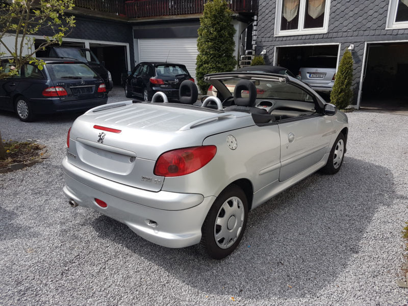 verkauft peugeot 206 cc hdi fap 110 gebraucht 2005 km in wuppertal. Black Bedroom Furniture Sets. Home Design Ideas