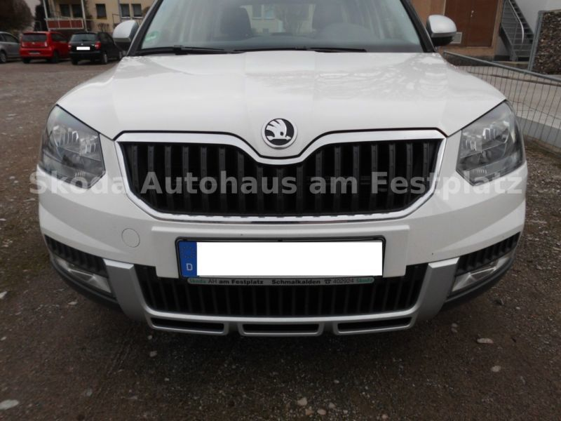 verkauft skoda yeti outdoor 2 0 tdi 4x gebraucht 2014 km in schmalkalden. Black Bedroom Furniture Sets. Home Design Ideas
