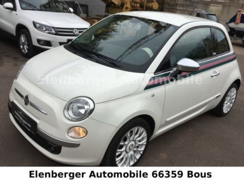 gebraucht 0 9 twinair start stopp by gucci fiat 500 2011 km in bous. Black Bedroom Furniture Sets. Home Design Ideas