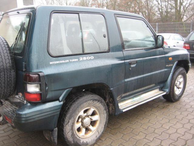 verkauft mitsubishi pajero 2800 td gls gebraucht 1998 km in sulingen. Black Bedroom Furniture Sets. Home Design Ideas