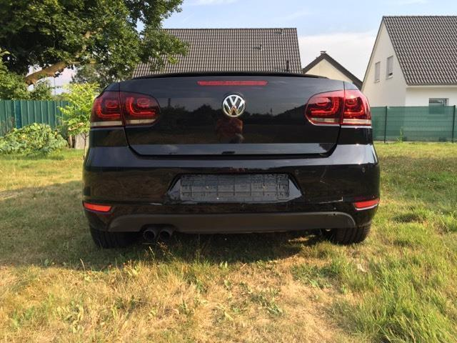 verkauft vw golf cabriolet cabrio 1 4 gebraucht 2012. Black Bedroom Furniture Sets. Home Design Ideas
