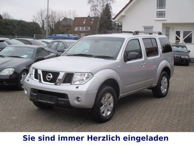 verkauft nissan pathfinder 2 5 dci se gebraucht 2007 km in nordrhein westfalen. Black Bedroom Furniture Sets. Home Design Ideas