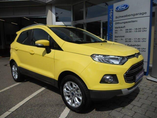 verkauft ford ecosport titanium 1 5 ti gebraucht 2015 km in eilenburg. Black Bedroom Furniture Sets. Home Design Ideas