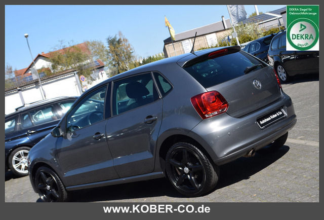 verkauft vw polo 1 4 highline klima si gebraucht 2010 km in neustadt. Black Bedroom Furniture Sets. Home Design Ideas