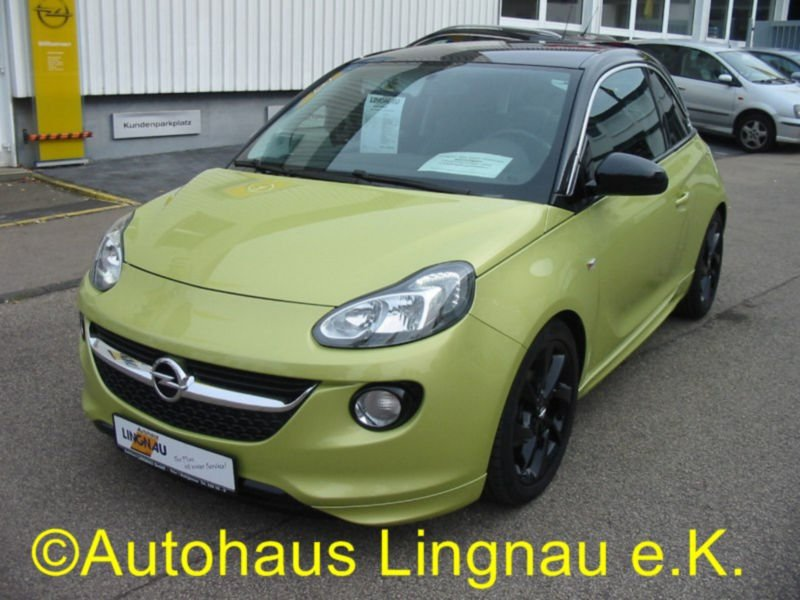 verkauft opel adam 1 4 slam gebraucht 2013 km in. Black Bedroom Furniture Sets. Home Design Ideas