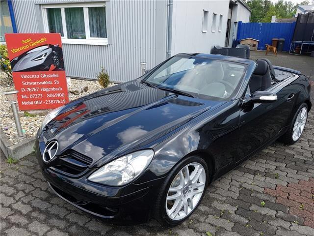 verkauft mercedes slk200 kompressor gebraucht 2007 km in metzingen. Black Bedroom Furniture Sets. Home Design Ideas