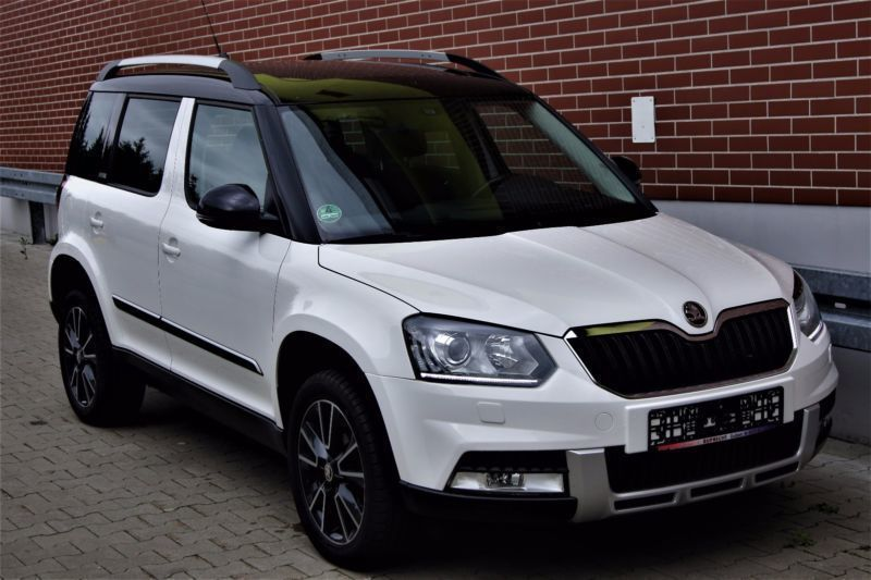 verkauft skoda yeti 2 0 tdi 4x4 advent gebraucht 2014 km in guben. Black Bedroom Furniture Sets. Home Design Ideas
