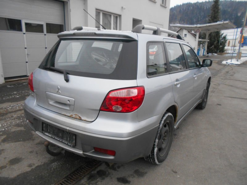 verkauft mitsubishi outlander 2 0 al gebraucht 2005 km in unterdigisheim. Black Bedroom Furniture Sets. Home Design Ideas