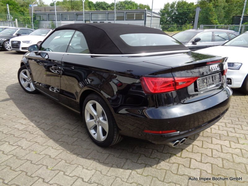 verkauft audi a3 cabriolet 2 0 tdi s t gebraucht 2014. Black Bedroom Furniture Sets. Home Design Ideas