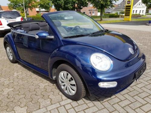 verkauft vw beetle newcabriolet 1 4 gebraucht 2003 87. Black Bedroom Furniture Sets. Home Design Ideas