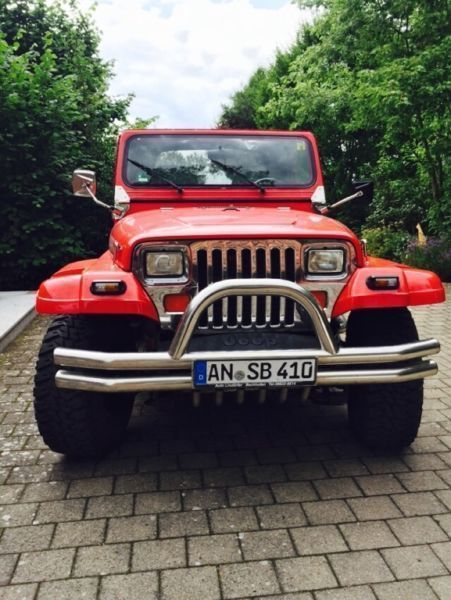 verkauft jeep wrangler yj 4 0 limited gebraucht 1992 km in berg am laim. Black Bedroom Furniture Sets. Home Design Ideas