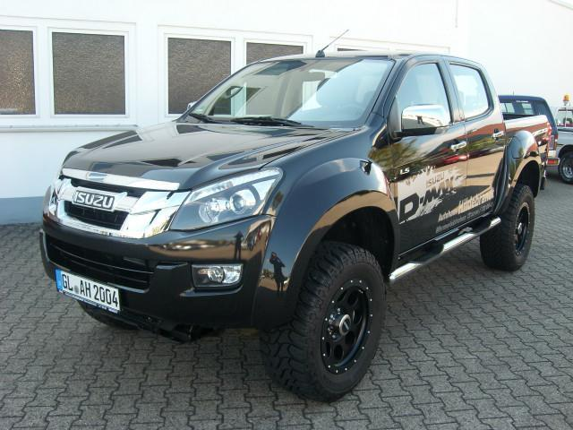 verkauft isuzu d max monster 4x4 doubl gebraucht 2013 3. Black Bedroom Furniture Sets. Home Design Ideas