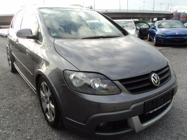 verkauft vw golf plus cross 1 9 tdi gebraucht 2007 km in mannheim. Black Bedroom Furniture Sets. Home Design Ideas