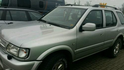 verkauft opel frontera 2 2 dti sport rs gebraucht 2004 km in dorsheim. Black Bedroom Furniture Sets. Home Design Ideas