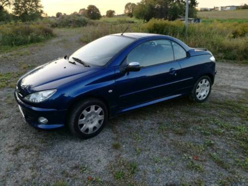 verkauft peugeot 206 cc gebraucht 2006 km in herzfelde. Black Bedroom Furniture Sets. Home Design Ideas