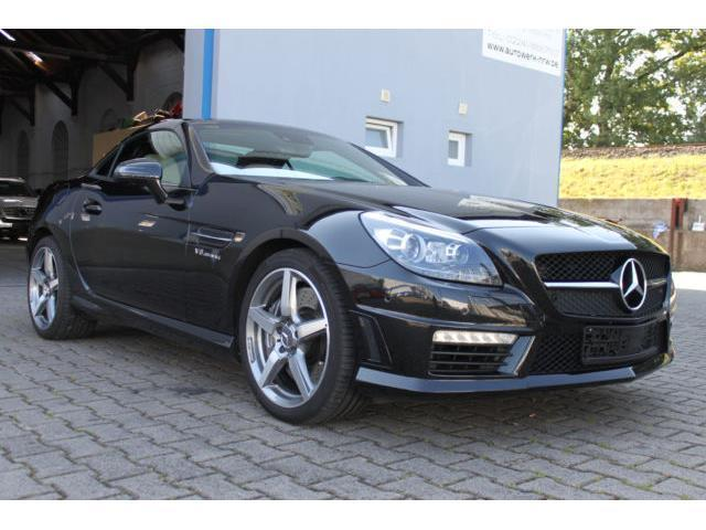 verkauft mercedes slk55 amg slk 55 amg gebraucht 2012 km in siegburg. Black Bedroom Furniture Sets. Home Design Ideas
