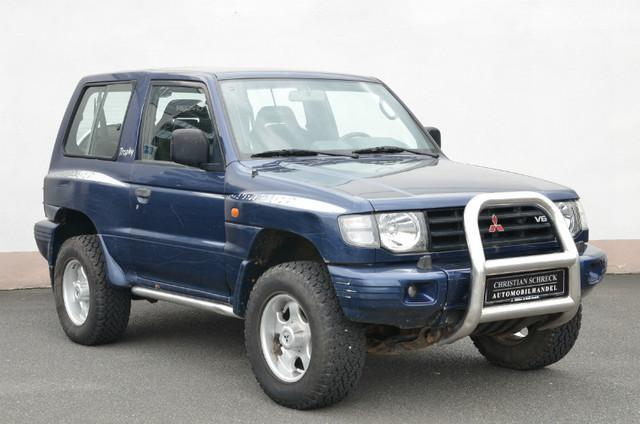 verkauft mitsubishi pajero trophy 3 5 gebraucht 1998 km in aschaffenburg. Black Bedroom Furniture Sets. Home Design Ideas