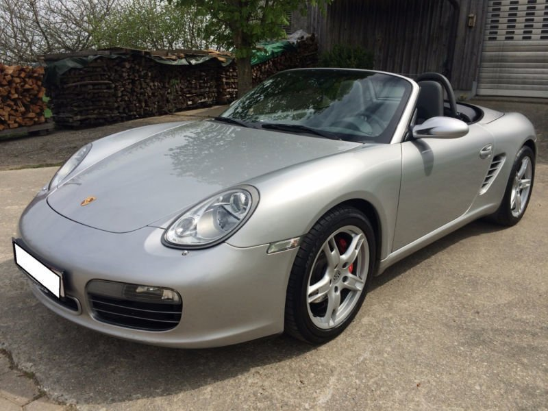 verkauft porsche boxster s gebraucht 2005 km in velden. Black Bedroom Furniture Sets. Home Design Ideas