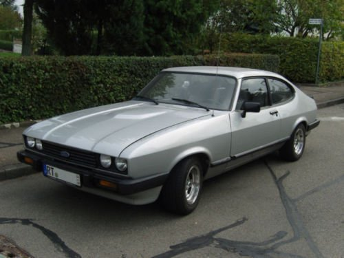 gebraucht ford capri 1983 km in bad urach autouncle. Black Bedroom Furniture Sets. Home Design Ideas