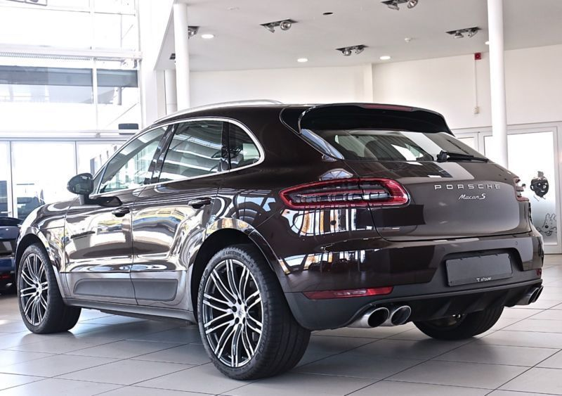 verkauft porsche macan s 21 bose sthz gebraucht 2014. Black Bedroom Furniture Sets. Home Design Ideas