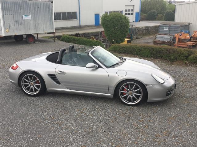 verkauft porsche boxster s cabrio 280 gebraucht 2006 km in untergruppenbach. Black Bedroom Furniture Sets. Home Design Ideas