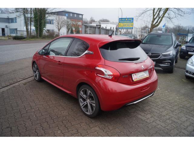 Verkauft peugeot 208 gti navi leder kl gebraucht 2013 for Peugeot 208 gti gebraucht