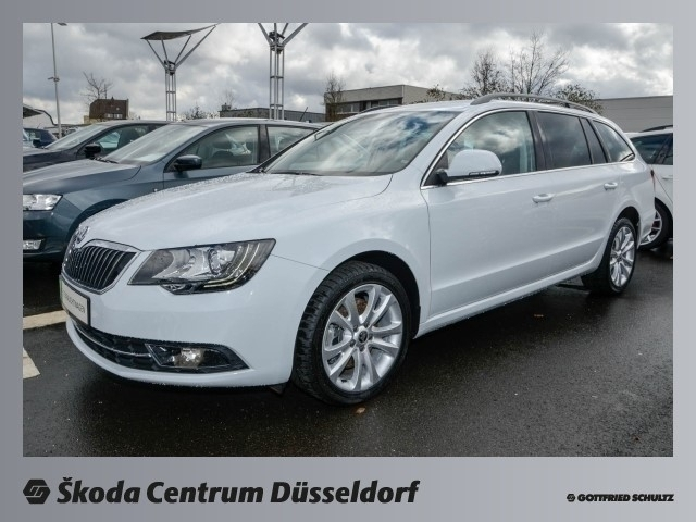 verkauft skoda superb combi 2 0 tdi ds gebraucht 2015 km in d sseldorf. Black Bedroom Furniture Sets. Home Design Ideas