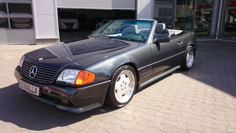 verkauft mercedes sl500 sl amg fondsi gebraucht 1992. Black Bedroom Furniture Sets. Home Design Ideas