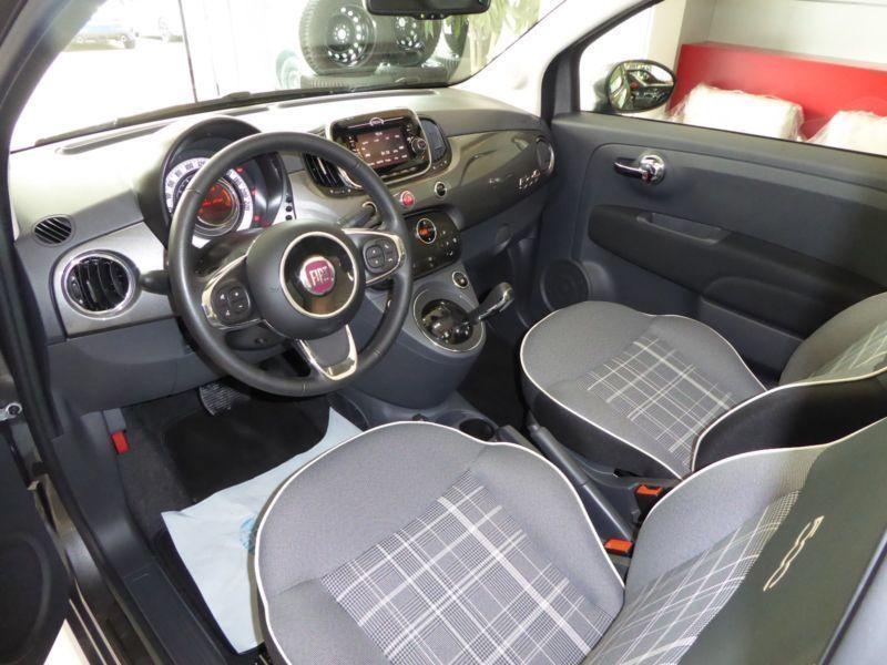 verkauft fiat 500 cabrio lounge automa gebraucht 2016 6. Black Bedroom Furniture Sets. Home Design Ideas