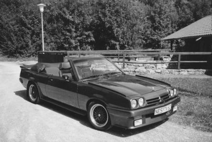 gebraucht cabrio opel manta 1986 km in bad neustadt a d. Black Bedroom Furniture Sets. Home Design Ideas