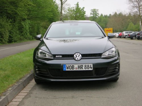 verkauft vw golf gtd bluemotion techno gebraucht 2016 km in wolfsburg. Black Bedroom Furniture Sets. Home Design Ideas