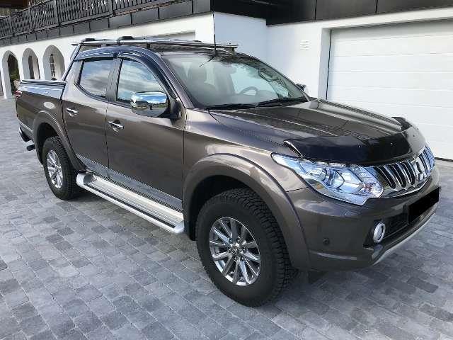 verkauft mitsubishi l200 pick up 4x4 a., gebraucht 2016, 39.400 km