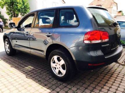 verkauft vw touareg vw2 5 diesel top a gebraucht 2004 km in pfungstadt. Black Bedroom Furniture Sets. Home Design Ideas