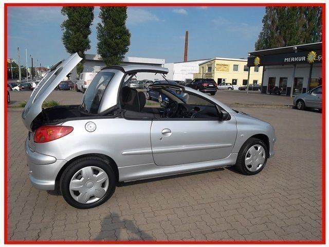 verkauft peugeot 206 cc cabriolet filo gebraucht 2005 km in hannover. Black Bedroom Furniture Sets. Home Design Ideas