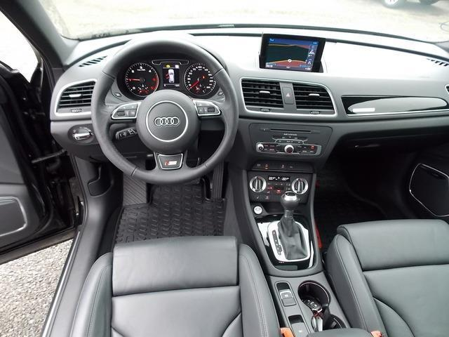 verkauft audi q3 2 0 tdi quattro s lin gebraucht 2014. Black Bedroom Furniture Sets. Home Design Ideas