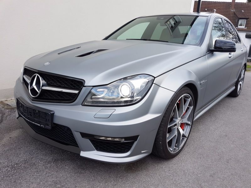 verkauft mercedes c63 amg c klasse lim gebraucht 2014 km in dorsten. Black Bedroom Furniture Sets. Home Design Ideas