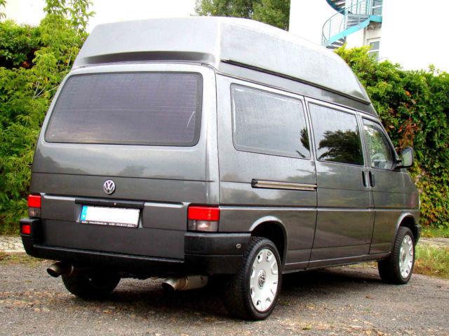 verkauft vw t4 wohnmobil hochdach gebraucht 1992 km in berlin. Black Bedroom Furniture Sets. Home Design Ideas