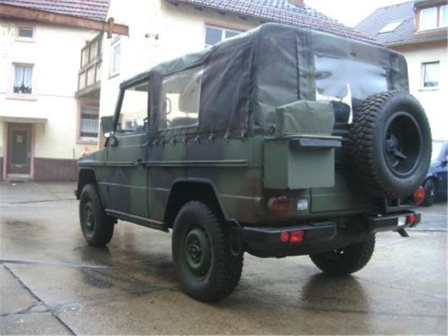 verkauft mercedes g250 wolf bundeswehr gebraucht 1993 km in neu anspach. Black Bedroom Furniture Sets. Home Design Ideas