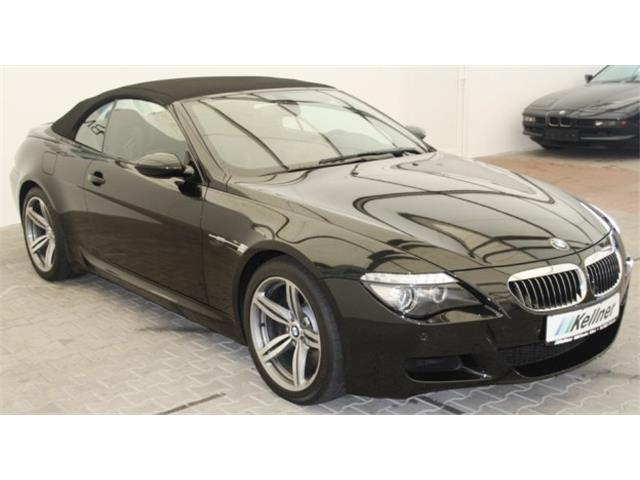 gebraucht 5 0 v10 head up hifi prof smg bmw m6 cabriolet 2008 km in erfurt. Black Bedroom Furniture Sets. Home Design Ideas